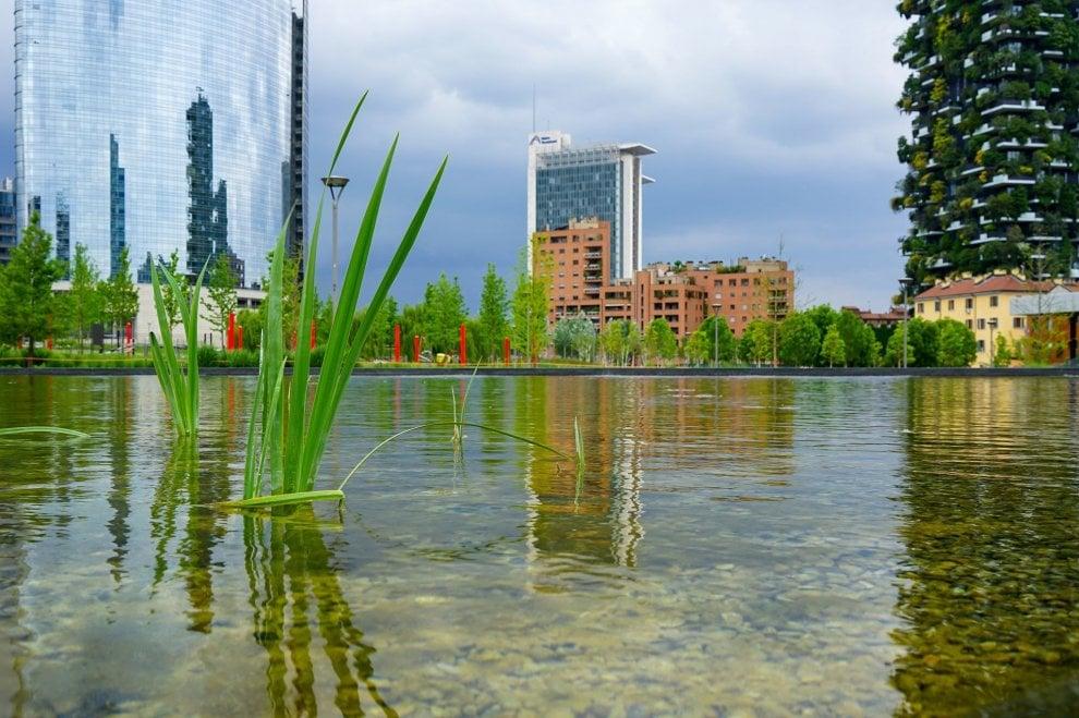 Milano, Gae Aulenti foto di Elena Galimberti