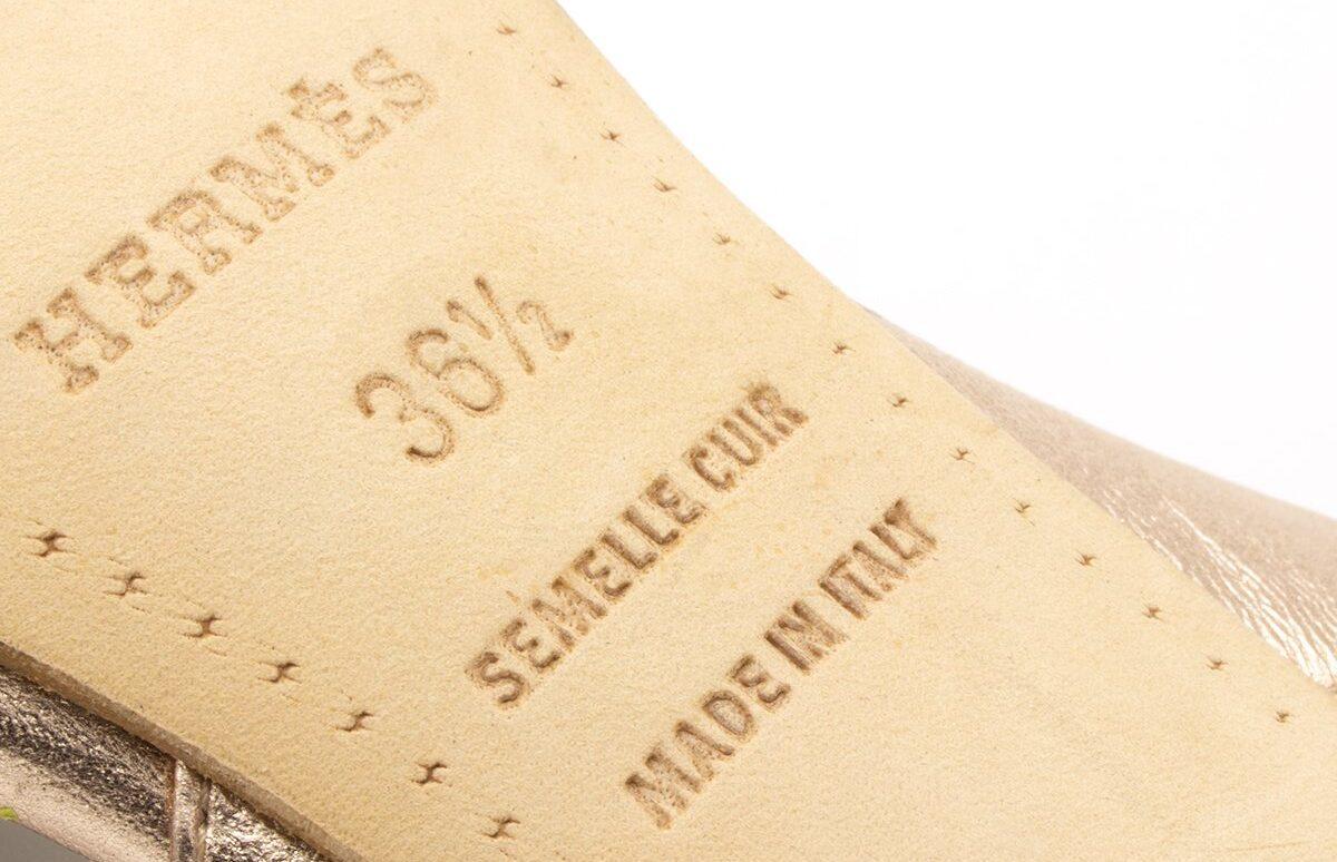 Hermès Chaussures Italie