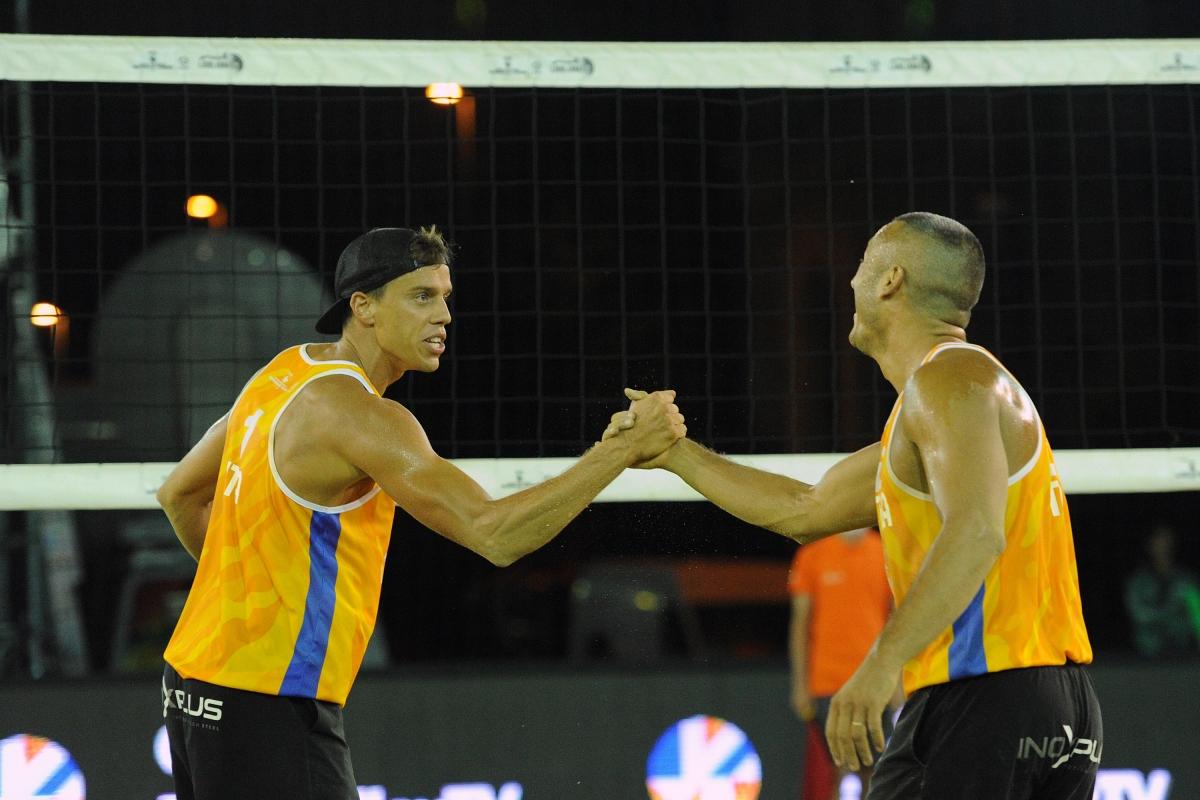 Podio Abbiati-Andreatta: «Ma come faremmo senza beach volley?»