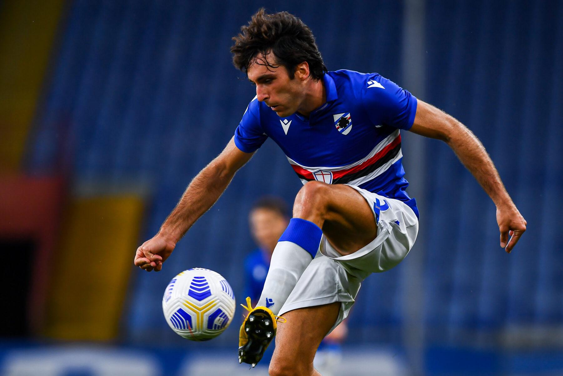 Augello - Credit foto Sampdoria: UcSampdoria/Pegaso