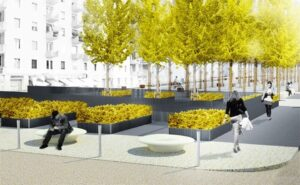 restyling piazza sant'agostino milano