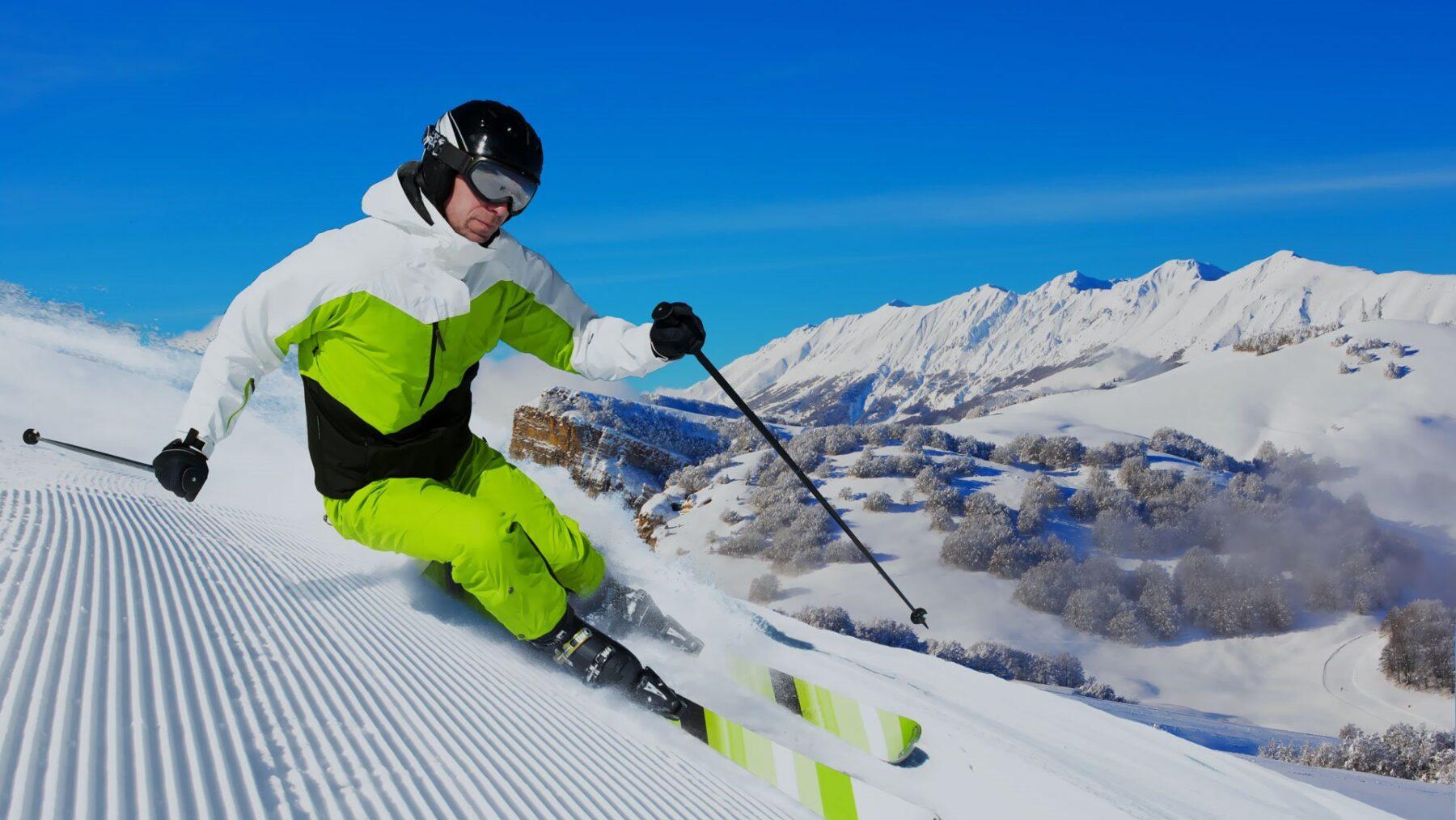 chiusura piste sci