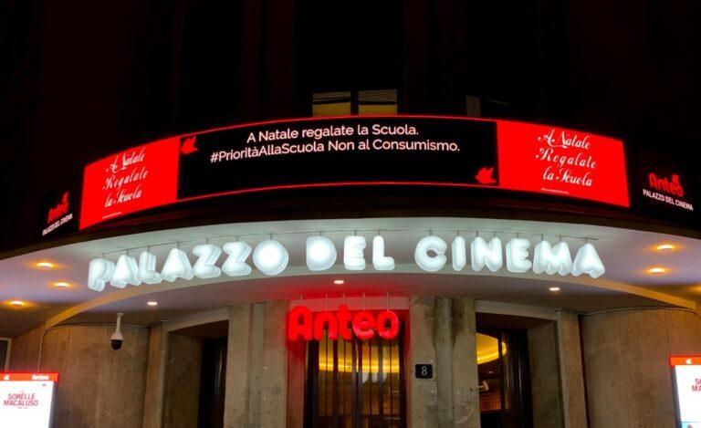 Si torna al cinema: Anteo aperto dal 26 aprile (in zona gialla)