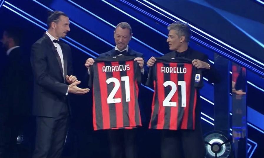 Amadeus, Fiorello e Ibrahimovic a Sanremo 2021