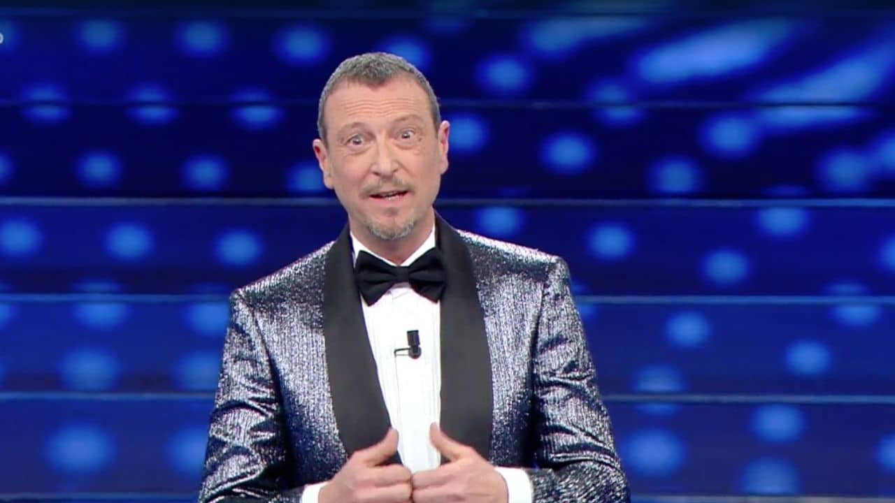 Amadeus a Sanremo 2021