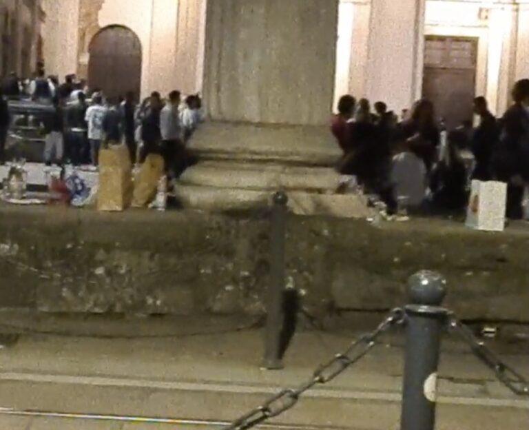 Notte di movida selvaggia in San Lorenzo: il video di SocialBoom