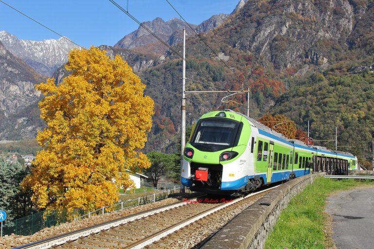 """Venti nuovi treni """"Donizetti"""" sulla tratta Milano-Tirano"""