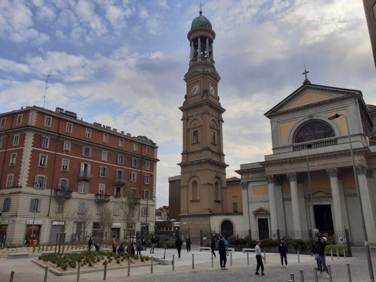 Al Corvetto è nata la nuova piazza San Luigi