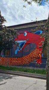 murale del drago